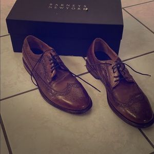 Barneys Oxford Washed Leather